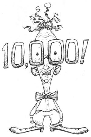 Photo of Dziesięć tysięcy!