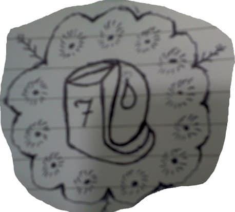Siódemka w kubkoidalnym butexie perspektywicznym, z witkami