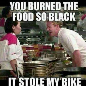 black-bike