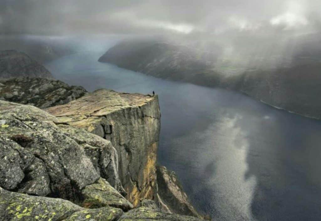man-cliff