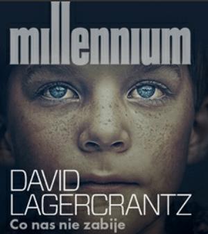 """""""Co nas nie zabije"""", czwarty tom szwedzkiej trylogii Millenium."""