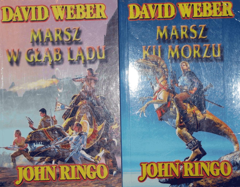 Photo of David Weber, John Ringo: Marsz w głąb lądu. Recenzja książki.